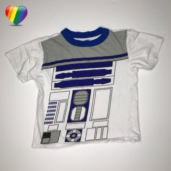 Star Wars Other - Star Wars R2-D2 White Graphic Tee Shirt A010466